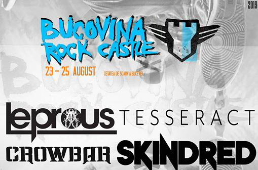 Line Up-ul final  de la Bucovina Rock Castle ! LEPROUS, CROWBAR, SKINDRED & more.