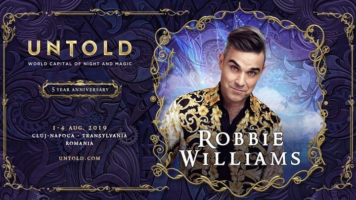 ROBBIE WILLIAMS VINE LA UNTOLD 2019 ! ! !